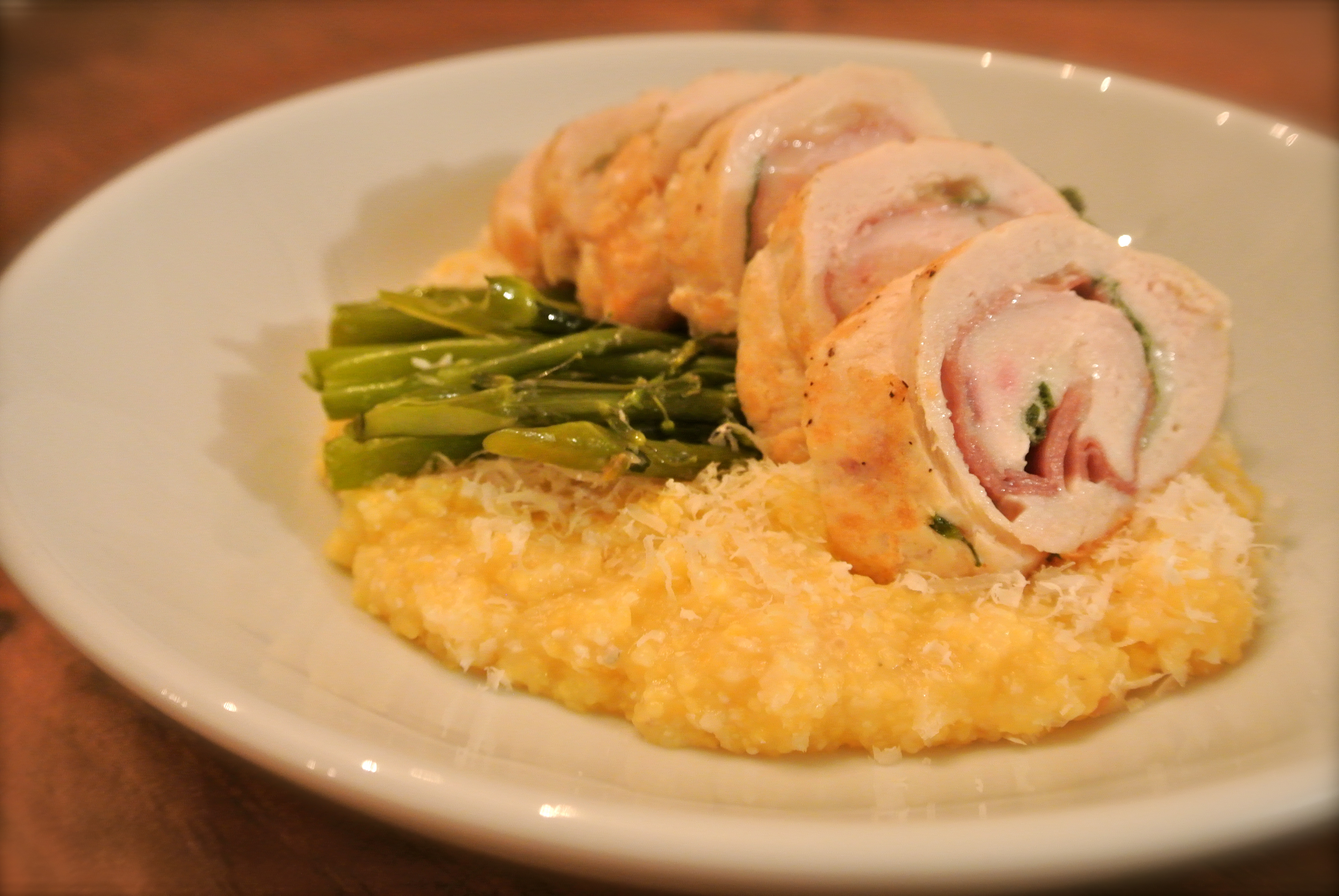 Baked Sage Polenta With Prosciutto And Fontina Recipes — Dishmaps